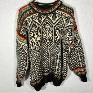 Dale of Norway Sweater Pure Wool Large